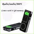 4 ГБ Mp3-плеер и Диктофон с FM Стерео МВТ SW AM радиоприемник Degen DE1127 Коротковолновое Радио Degen