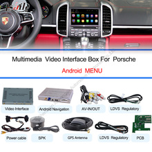Android 4.4 Car GPS Navigation Player for Porsche 2010~2016 with 3GWifi steering wheel control Remote