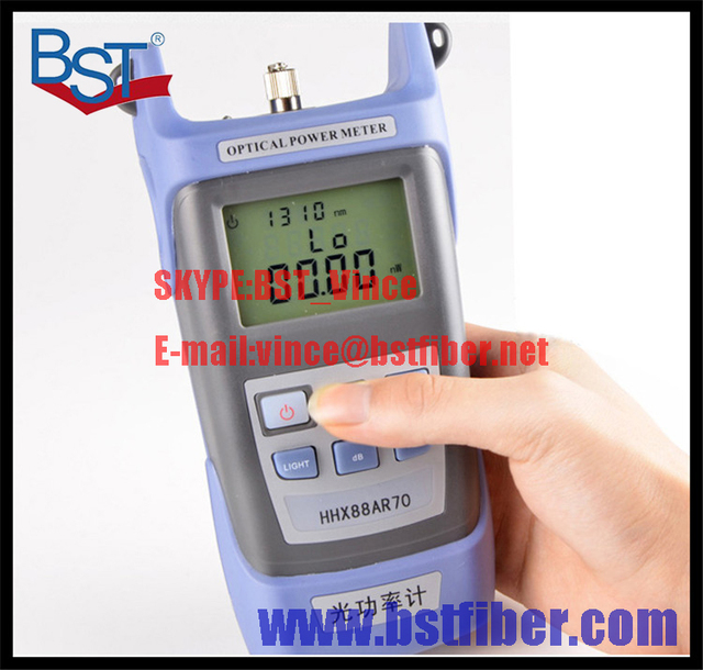 FTTH Fiber Optic Tool, Optical Power Meter, Fiber optical power meter -70 to +10dBm, With FC,SCConnector,Free Shipping