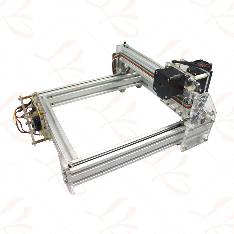 500MW Desktop DIY Violet LY 2017 mini Laser Engraver Picture CNC Printer 20*17CM - 3