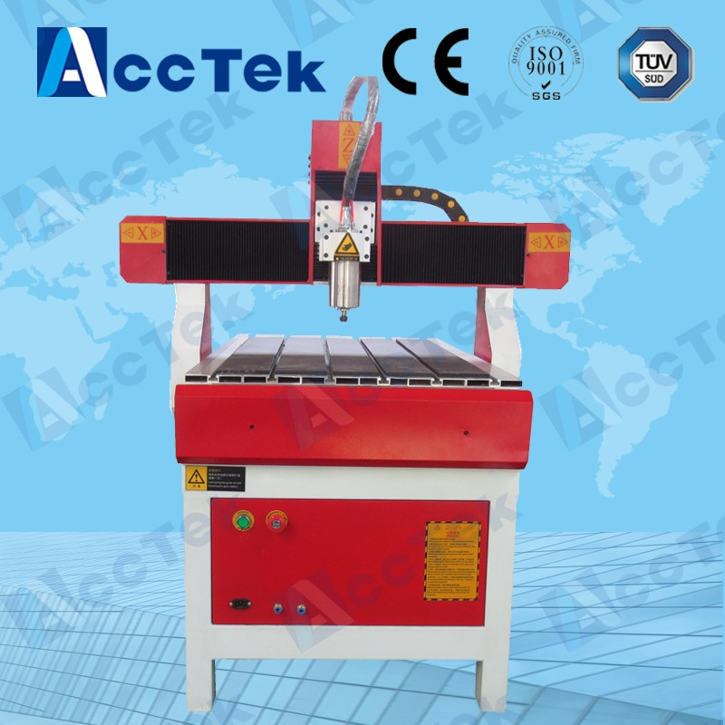 Acctek high quality cnc router 6090 mach3 control 4 axis 6040/6090/6012 cnc engraving machine usb for wood ,stone,aluminum acctek mini cnc desktop engraving machine akg6090 square rails mach 3 system usb connection