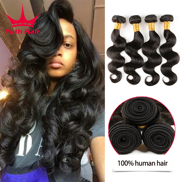 7a Brazilian Body Wave 4 Bundles Brazilian Virgin Hair Human Hair Weave Bundles Cheap Brazillian Virgin Hair Body Wave 4 Bundles