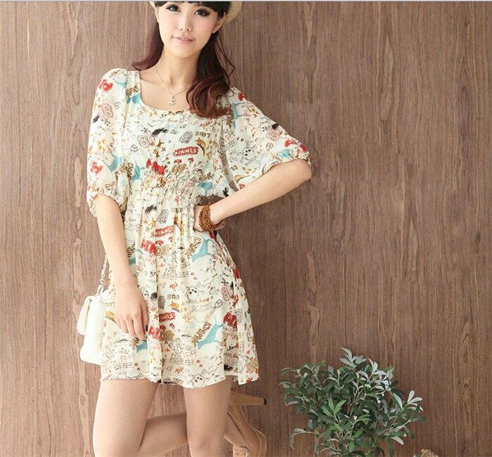 8a39c7699f6e 2016 mode nouveau printemps été femmes de taille plus vêtements imprimé  floral motif casual robes 11304962