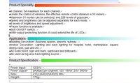 из светодиодов для RGB контроллера, 5А * 3 канала, ра-ct309-РФ