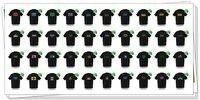 Эль T - рубашки, т рубашка, футболки эквалайзер, звук активный Эль футболке, Эль музыка мигающий футболка, из светодиодов футболка 77005