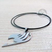 япония аниме косплей изображение задняя часть герба гильдии логотип метель кулон ожерелье 10 шт. / много