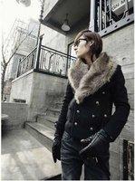 мужчины пальто мода меховой cores стоит с Корк издание тонкий куртка бесплатная доставка Н7