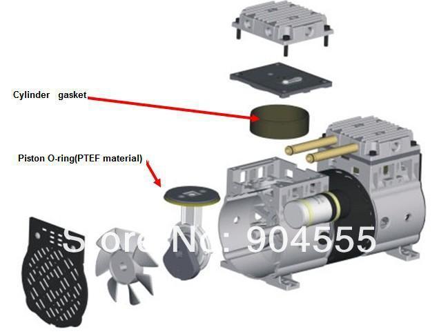 Компрессор воздуха В AC 220 V Oill свободный, компрессор воздуха поршеня для концентратора кислорода