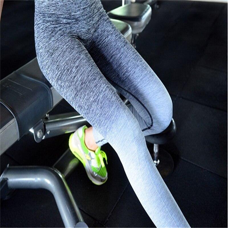 Bahar-payız qadın idman elastik fitnes yoga şalvarları nazik - İdman geyimləri və aksesuarları - Fotoqrafiya 1