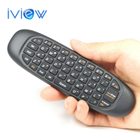 Free Ship Gyroscope Fly Air Mouse T10 C120 Gaming keyboard Android Remote Control 2.4Ghz Wireless Game Keyboard For Mini PC