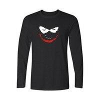 Male Joker in Batman Manica Lunga T-Shirt Da Uomo Marca Famosa Top Designer Mens Casual in Mens Hiphop Cotone Tees e top