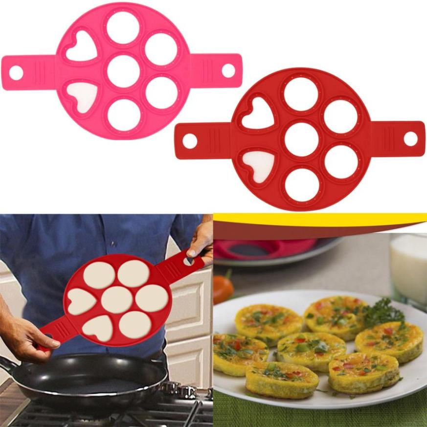 2017 New Product Fantastic Fast Easy Way to Make Perfect cooking tool pancake maker egg silicone