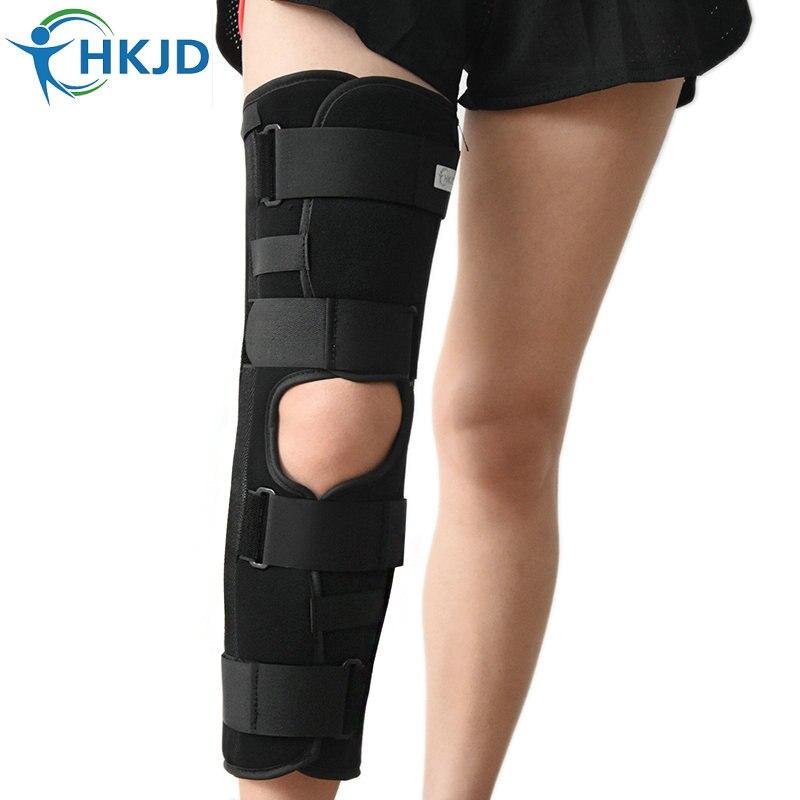 Здоровье и гигиена Спецодежда медицинская наколенника ног до колен Поддержка Brace Обёрточная бумага защитник наколенники скобка Поддержка