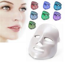 Hot Sale 7 Color Photon Facial colorful Led Mask Rejuvenecimiento Estetica Face skin whitening Photodynamic Therapy Beauty Care