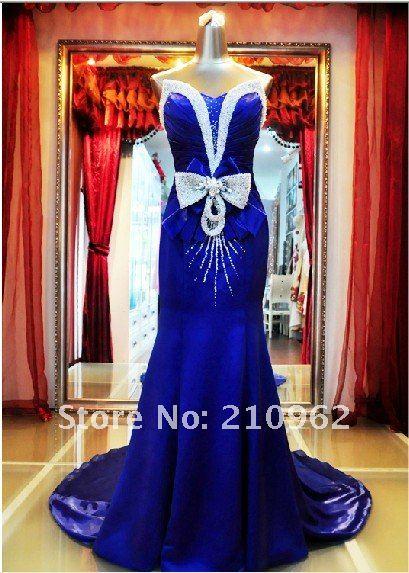 Sapphire Blue Bridal Dresses