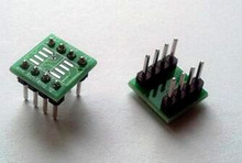 Free Shipping!!! 2pcs SMD DIP switch 8 leg / SOP8 turn DIP8 / 8P ADAPTER / SOIC8 /Electronic Component