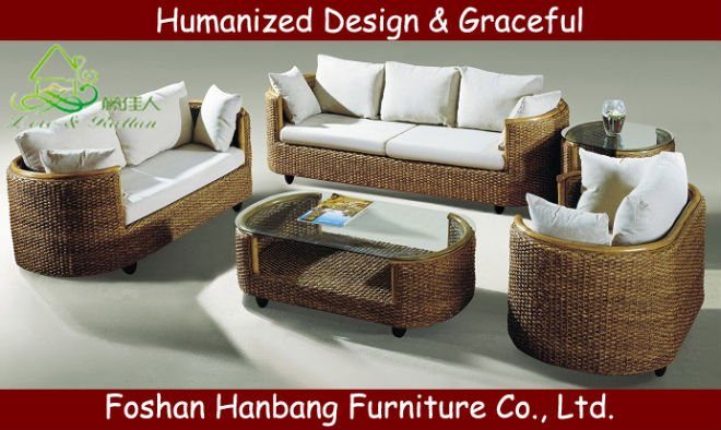 roma rattan three seat sofa in living room sofas from furniture on