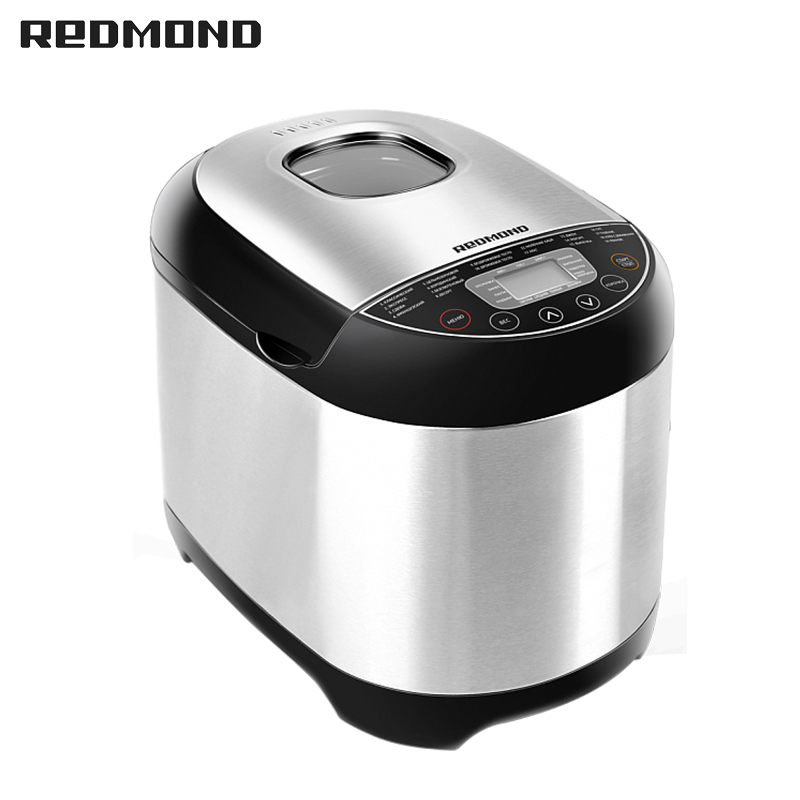 Bread Maker REDMOND RBM-M1911 free shipping bakery machine full automatic multi function zipper хлебопечь redmond rbm m1911 серебристый