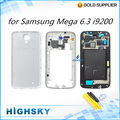 Tools + Back cover + middle frame + lcd panel For Samsung Galaxy mega 6.3 i9200 full housing battery doolr 1 piece free shipping