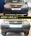 Malha grille para Chevrolet Niva I Facelift 2009-estilo do carro moldagem decoração grade de malha de proteção