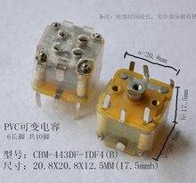 Free Shipping!!  PVC variable capacitor / 443DF6 long foot / 10 foot / 270-type variable capacitor /Electronic Component
