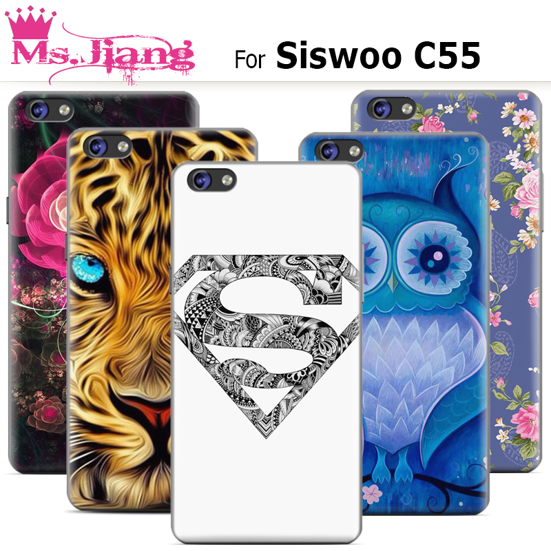 Siswoo c55 Case Perfect Design Colored Paiting Back Cover Case For Siswoo c55 Phone Cases