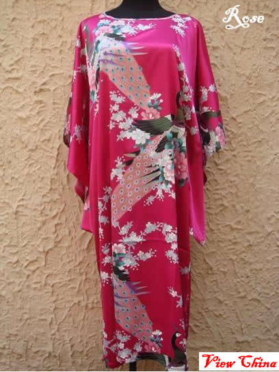 HQ Silk Fabric Chinese Traditional ancient costume style Sleepwear ... c07206691