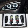 5 conjuntos de Alta brilhante canbus H8 E92 LED marcador 12 V LEVOU anjo olhos 120 W XENON Branco 6000 K para bmw X5 E70 X6 E71 E90 E91 E92 M3 E60