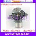 Новый автоматический термостат охлаждающей жидкости Использование OE NO. 1122030275  1122000015 для Mercedes-Benz