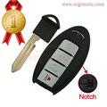 Inteligente chave 4 botão 315 Mhz KR55WK48903 para Infiniti G35 G37 2008 285E3-JK62A