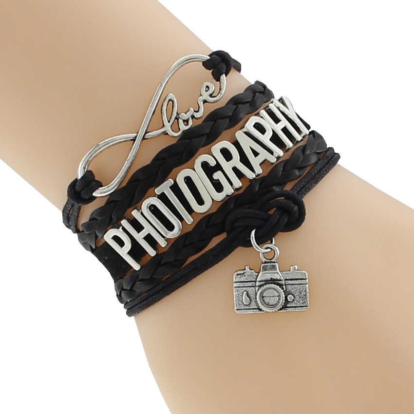 אינפיניטי אהבת צילום ספורט צמיד אישית צמיד ידידות BraceletsPerfect מתנת רעיון F-CTSLB0182