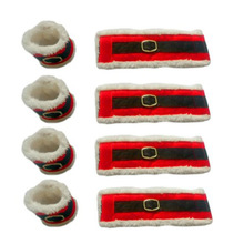 Christmas Napkin Rings 4 pcs/set