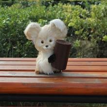 fashion plastic furry mickey mouse figurine