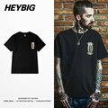 Nuestra Señora de Guadalupe MÉXICO estilo impreso Camiseta de los hombres de Hiphop calle heybig 2016 s/f manga corta camiseta retro clothing cn TAMAÑO