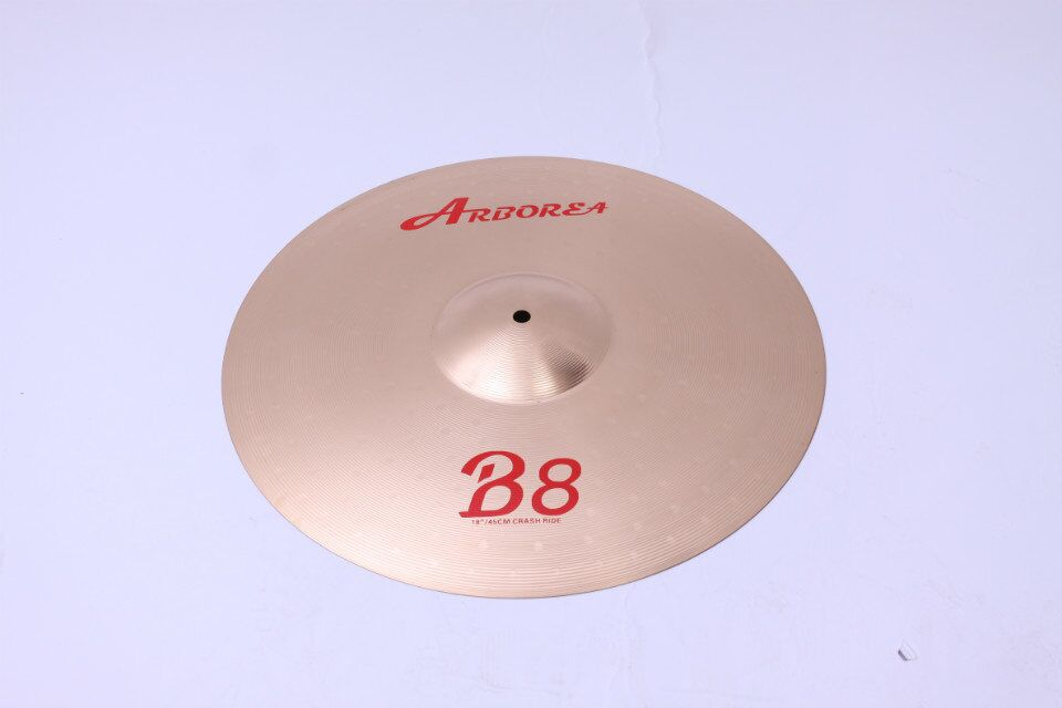 Drum cymbal high grade practice  B8 series 18''Crash Cymbal for sale цена