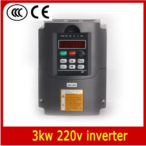 220v 3.0kw VFD Variable Frequency Drive Inverter / VFD 1HP or 3HP Input 3HP Output CNC Driver CNC Spindle motor Speed control cnc spindle motor speed control 220v 1 5kw vfd variable frequency drive inverter 1hp or 3hp input 3hp output for cnc driverl