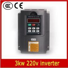 220 В VFD Переменной Частоты Инвертор 3.0kw/VFD 1HP или 3HP Вход 3HP Выход Водитель ЧПУ ЧПУ Шпинделя motor Speed control
