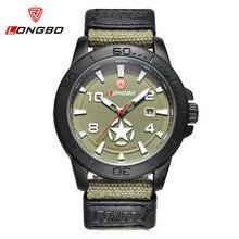 Nueva Prueba de Agua Para Hombre Relojes de Primeras Marcas de Lujo Analógico Fecha Reloj de Cuarzo Militar Hombres Casual Sport Reloj de pulsera Relogio masculino