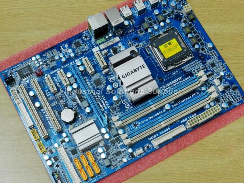 P45 Desktop motherboard GA-EP45-UD3L DDR2 A 775 16G ATX EP45-UD3L 100% tested perfect quality g31 ga g31 s3g ddr2 a 775 ddr2 usb2 0 vga motherboard integrated graphics 100% tested perfect quality