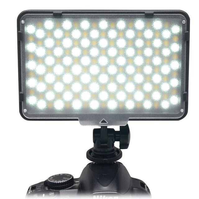 Mcoplus 168 Bi-color 3200K-7500K Photography Digital Camera Camcorder LED Studio Lighting Video LED Light for Canon Nikon Pentax