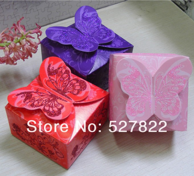 Hot 100pcs 3 Colors Dark purple Pink Red Butterfly Angel Beautiful Candy Box Creative DIY Wedding Favor Boxes,wedding gift2.jpg