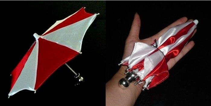 Super Mini parapluie magique, 21 cm (3 couleurs disponibles) tour de magie accessoire de scène accessoire accessoire apparaissant jouets classiques drôles