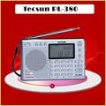 Tecsun pl-380 dsp etm pll rádio portátil digital stereo fm/lw/sw/mw mundial receptor tecsun pl380, Freeshipping, varejo, atacado