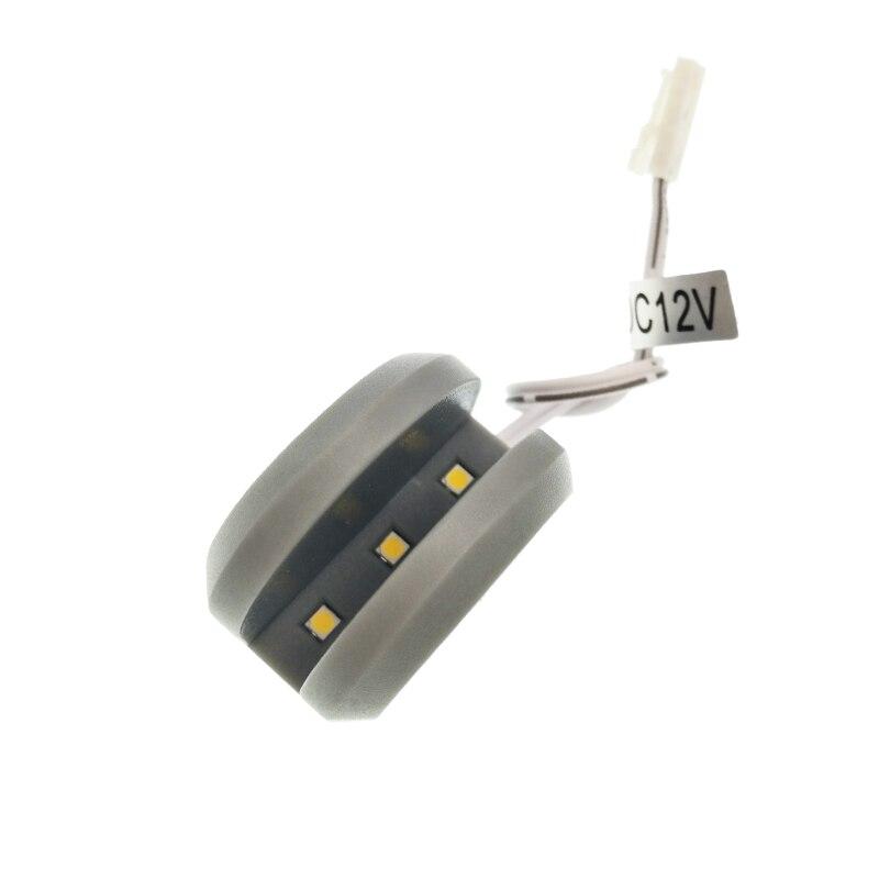 6pcs 0.7W DC 12V Mini LED Cabinet Light Glass Clip
