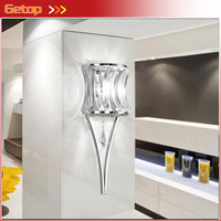 ZX Modern K9 Crystal Iron Wall Lamp Creative Fixtures LED Chip Light Lustres Balcony Corridor Bedroom