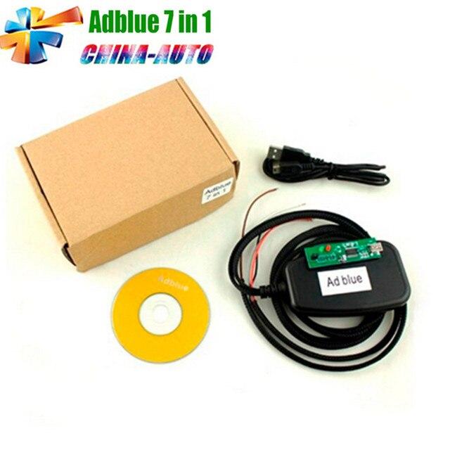 5pcs/lot Top Selling Professional Adblue Emulator 7in1 Remove Tool Adblue Emulation 7 in 1 Module for Multi-brand Trucks