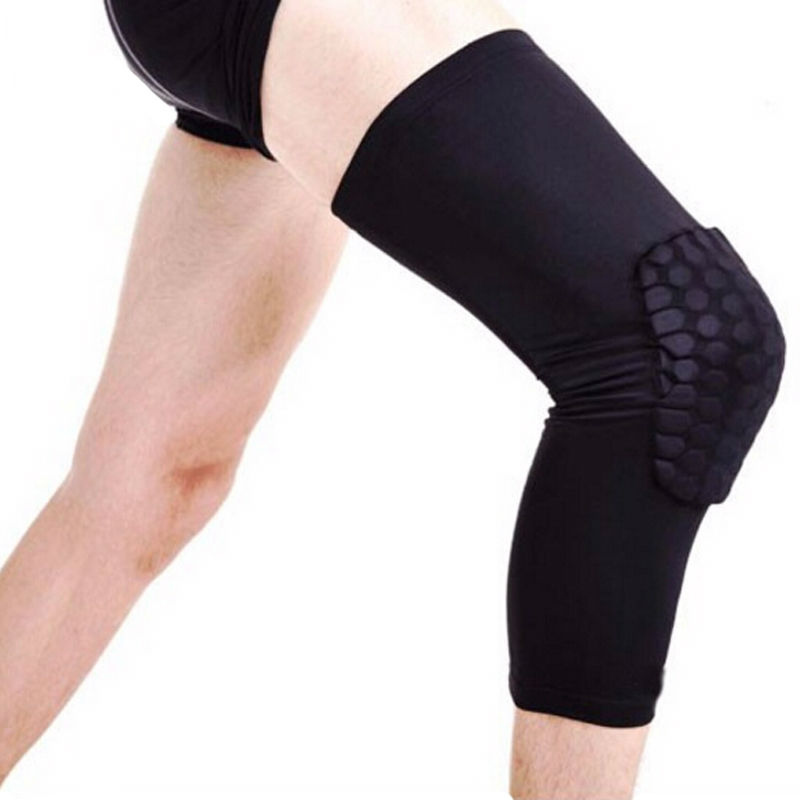 1 piece kneepad volleyball kneecap Protective Knee Pads support Basketball Leg knee Sleeves Compression Knee Braces protector