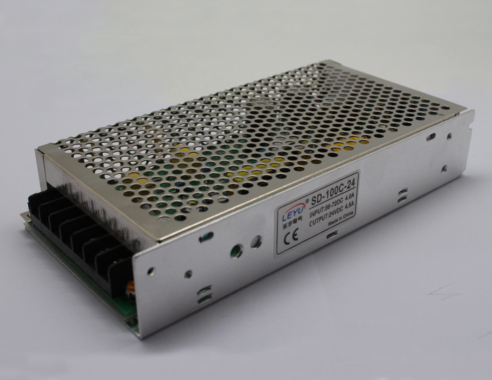 SD-100C-24 dc to dc power supply 48VDC to 24VDC 100W dc/dc converter with CE RoHS approved