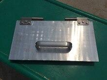 beeswax foundation sheet making machine/wax comb embosser mill machine 42*22 cm