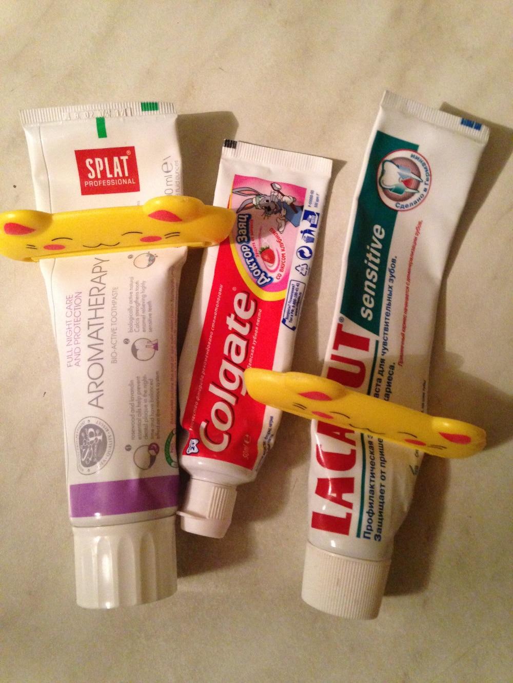 Цветовая маркировка тюбиков зубной пасты